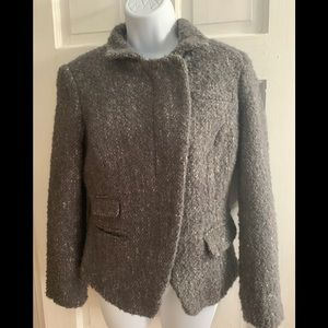 NEW w. Tags BANANA REPUBLIC Wool Moto Jacket